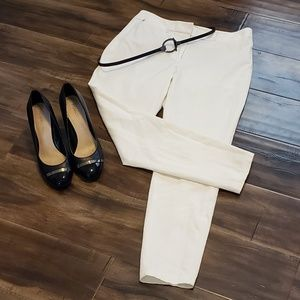 White House Black Market The Skimmer White Pants